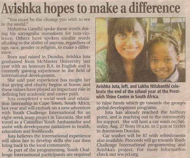 Avishka hopes to make a difference
