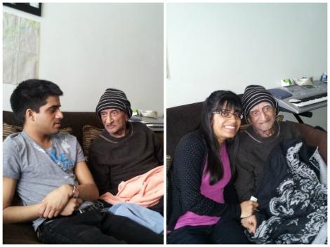 me, dev and bapuji
