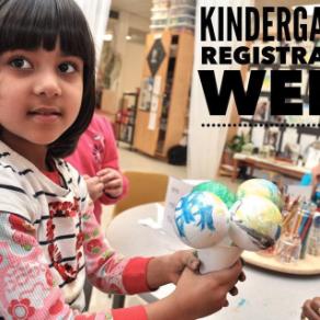 Kindergarten Registration Week 2017