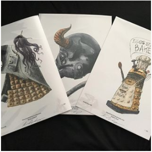 SG Illustration, Instagram, Toronto ComiCon 2017 Prep